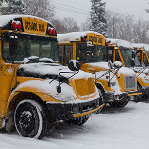 Snow Day News & Letter from Superintendent